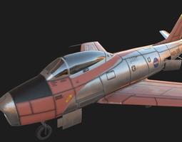 3D model realtime North American F-86 Sabre