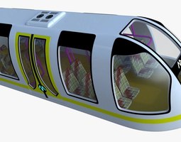 3D model Passenger transporter II