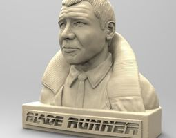 3D print model RICK DECKARD BLADE RUNNER