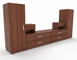 tv stand 31 3D model