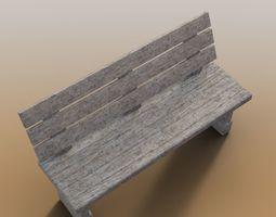 3D asset wooden garden