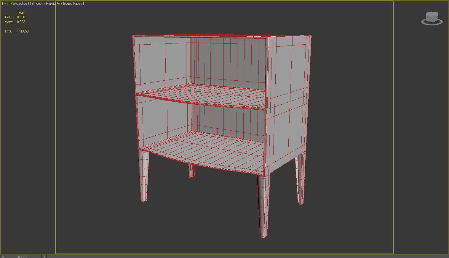 Kartell Ghost Buster Rack 3D model | CGTrader