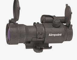 3D Optical Scope Aimpoint vray