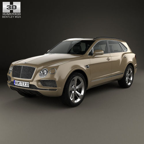 Bentley Bentayga: 3D Model Bentley Bentayga 2016