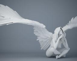 Sexy angel series 003 3D printable model