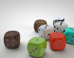 Color Dice 3D printable model