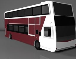 Edinburgh Bus 3D