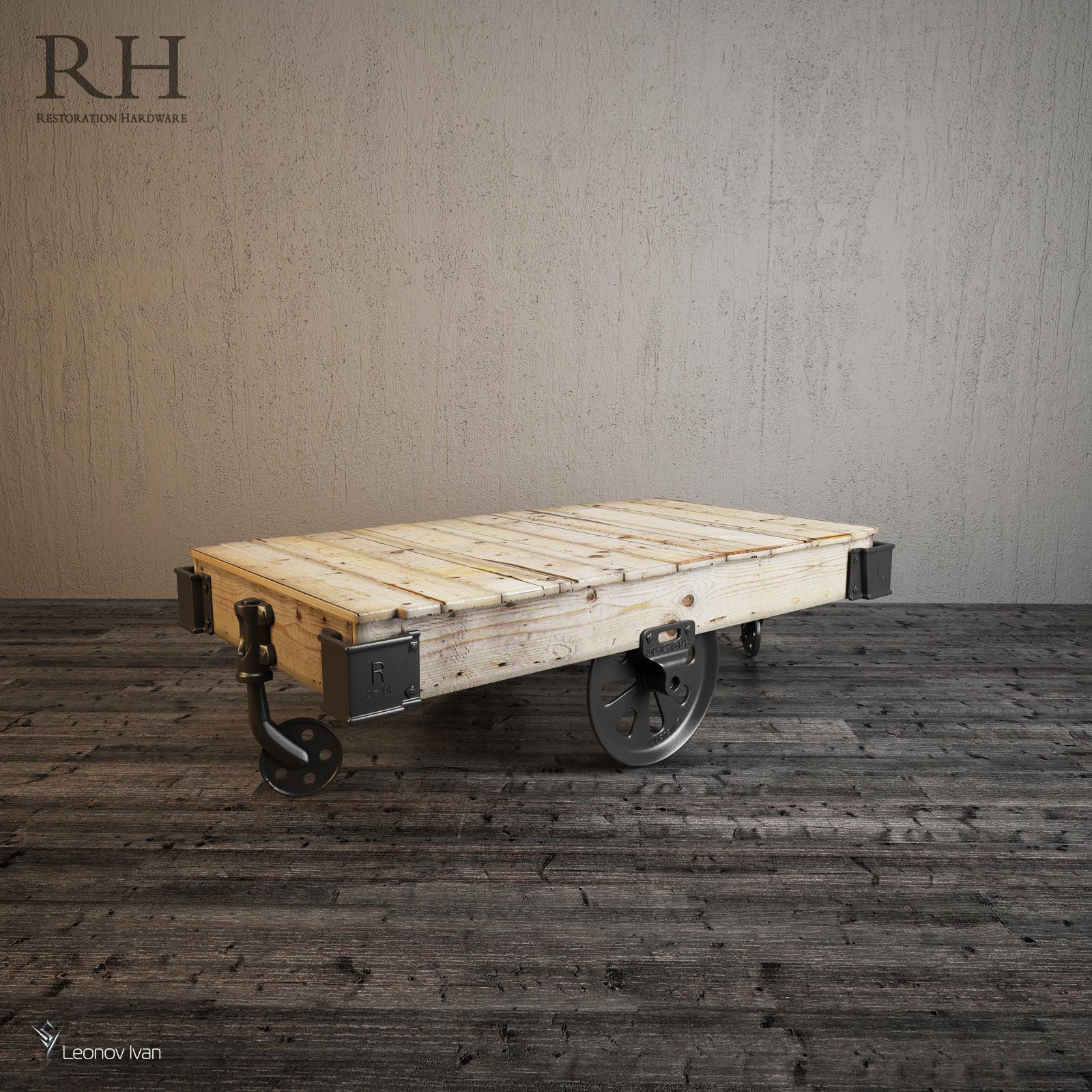 Superbe ... Furniture Factory Cart 3d Model Max Obj 3ds Fbx Mtl ...