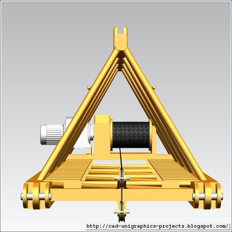 TOWER CRANE -Crane jib-base- 3D | CGTrader
