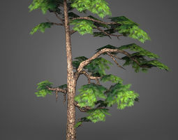 Game Ready Low Poly Tree 15 3D model
