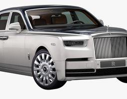 3D 2018 Rolls-Royce Phantom