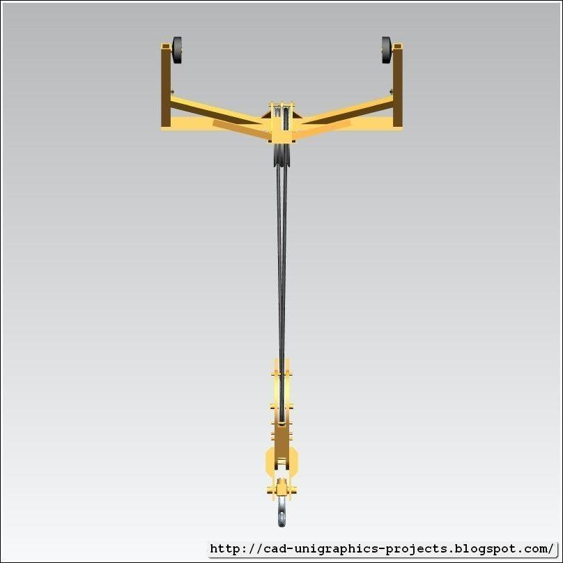 3D model TOWER CRANE -Trolley sc- | CGTrader