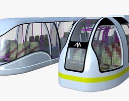 Passenger transporters collection 3D model