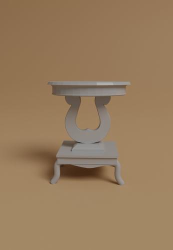 Porcelain Living room table