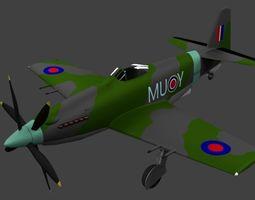 3D model Martin Baker MB5