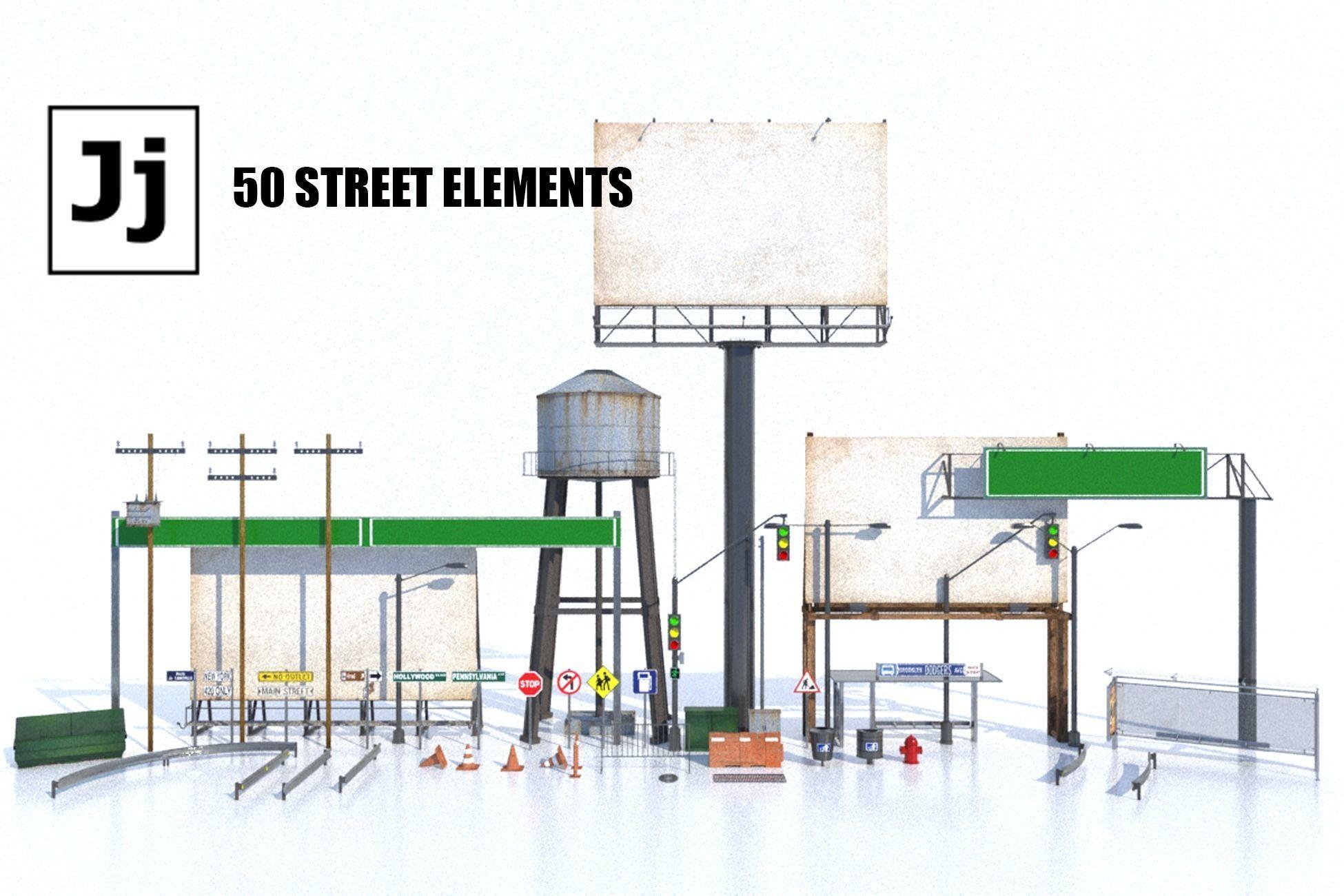 Street Elements Package JJ