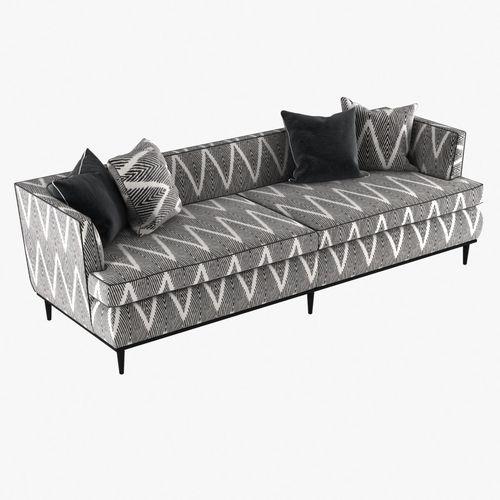 Monroe Sofa By Kate Spade Model Max Obj Mtl S Fbx Stl 1
