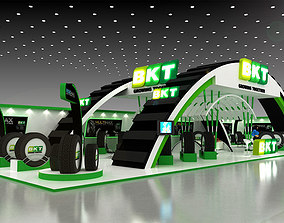 3D 28x10Mtr Exhibition stand