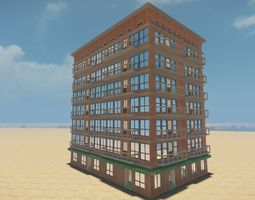 Modular house 001 3D model