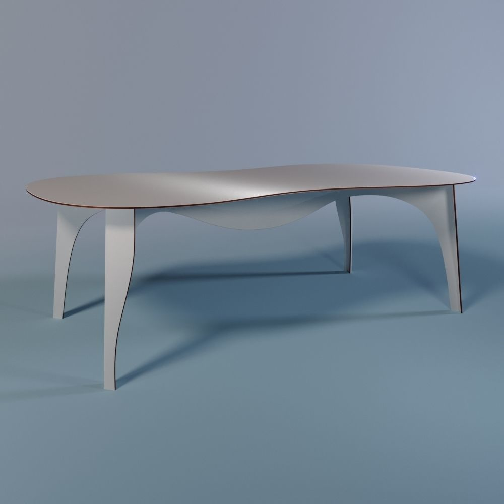 No-waste table from Moroso