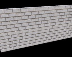 3D model decoration Vray - stone wall facade material