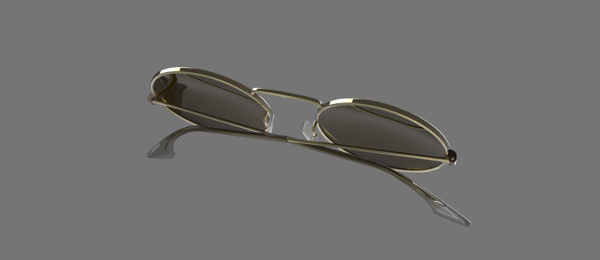 79d2d2a6f9 ... sunglasses round 1 3d model low-poly max obj mtl 3ds fbx sldprt sldasm  slddrw ...
