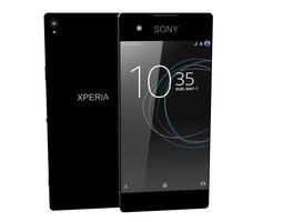 3D model Sony Xperia XA1 Dual black