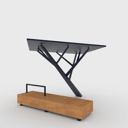 Solar Tree3D model