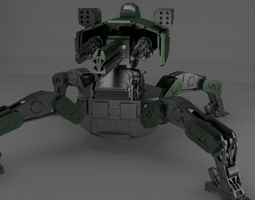 3D model Mech-destroyer