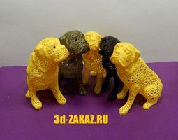 3D printable model Dog design by Voronoi