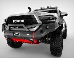 3D model Toyota Tacoma TRD 2017 Custom