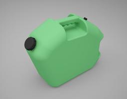 3D model Plastic Fuel Carrying Can