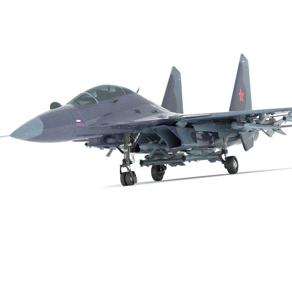 sukhoi fighter jet f15 f16 | 3D model