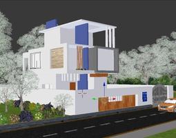 Modern Exterior Desgin 3D