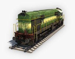Locomotive Diessel 3D model