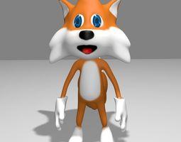 3D asset Fox Toon