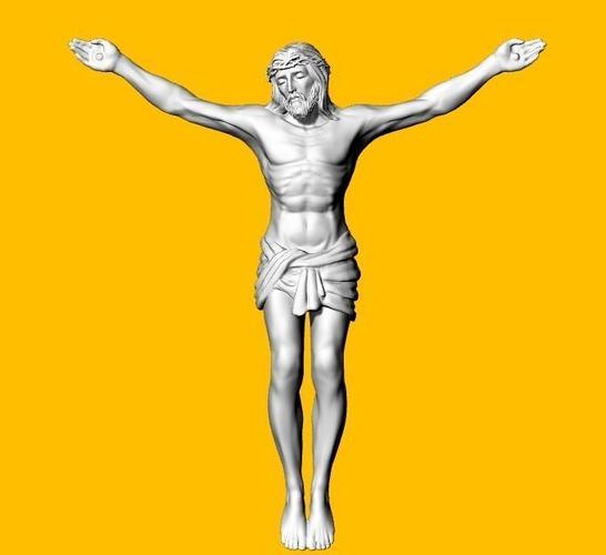 jesus 3d model stl 1