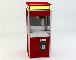 Grab machine 3D model