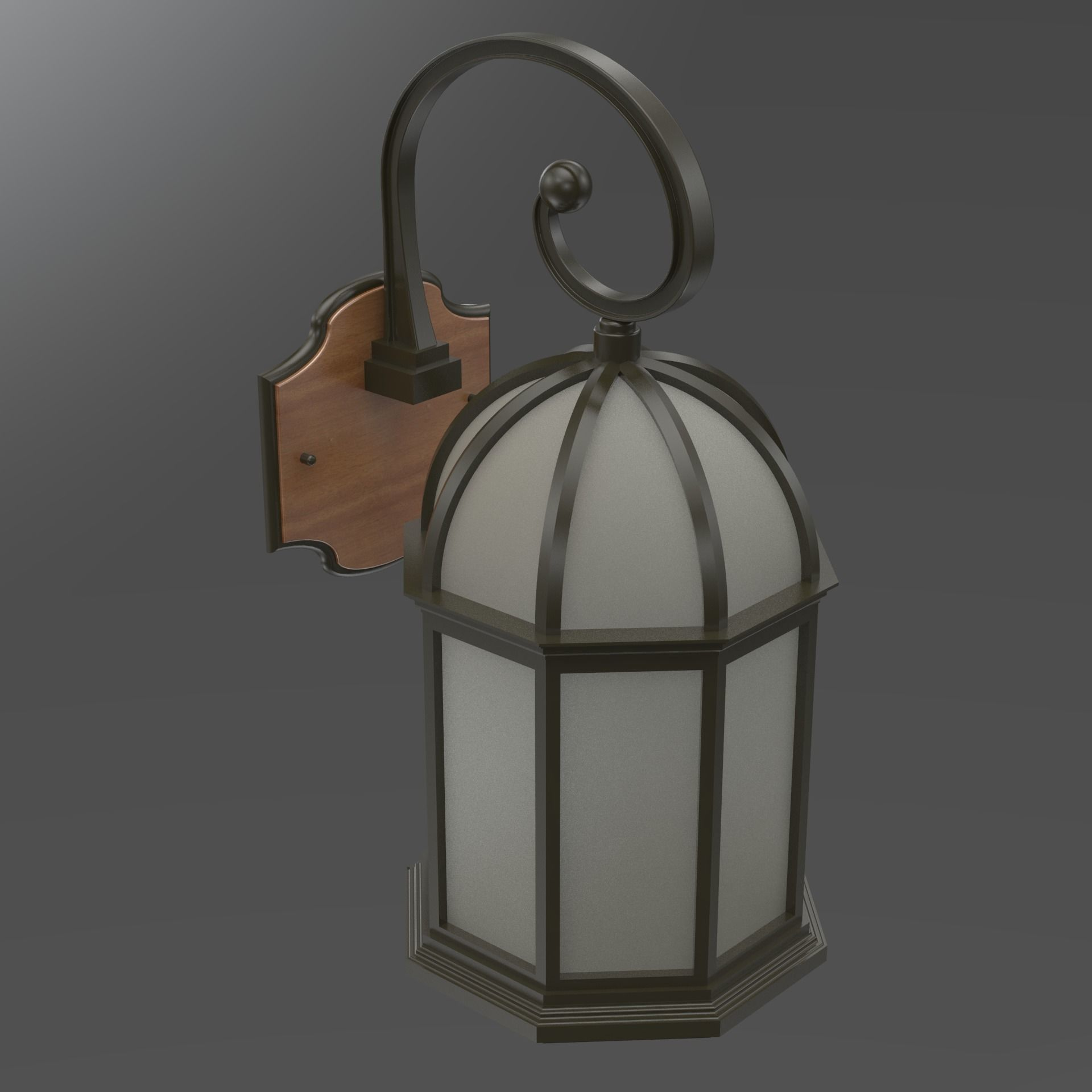 Lantern light fixtures lighting designs light fixture wall hung lantern 3d model cgtrader arubaitofo Choice Image