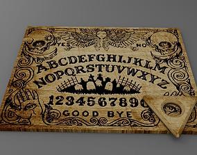 3D model Ouija board