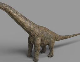 Alamosaurus 3D model