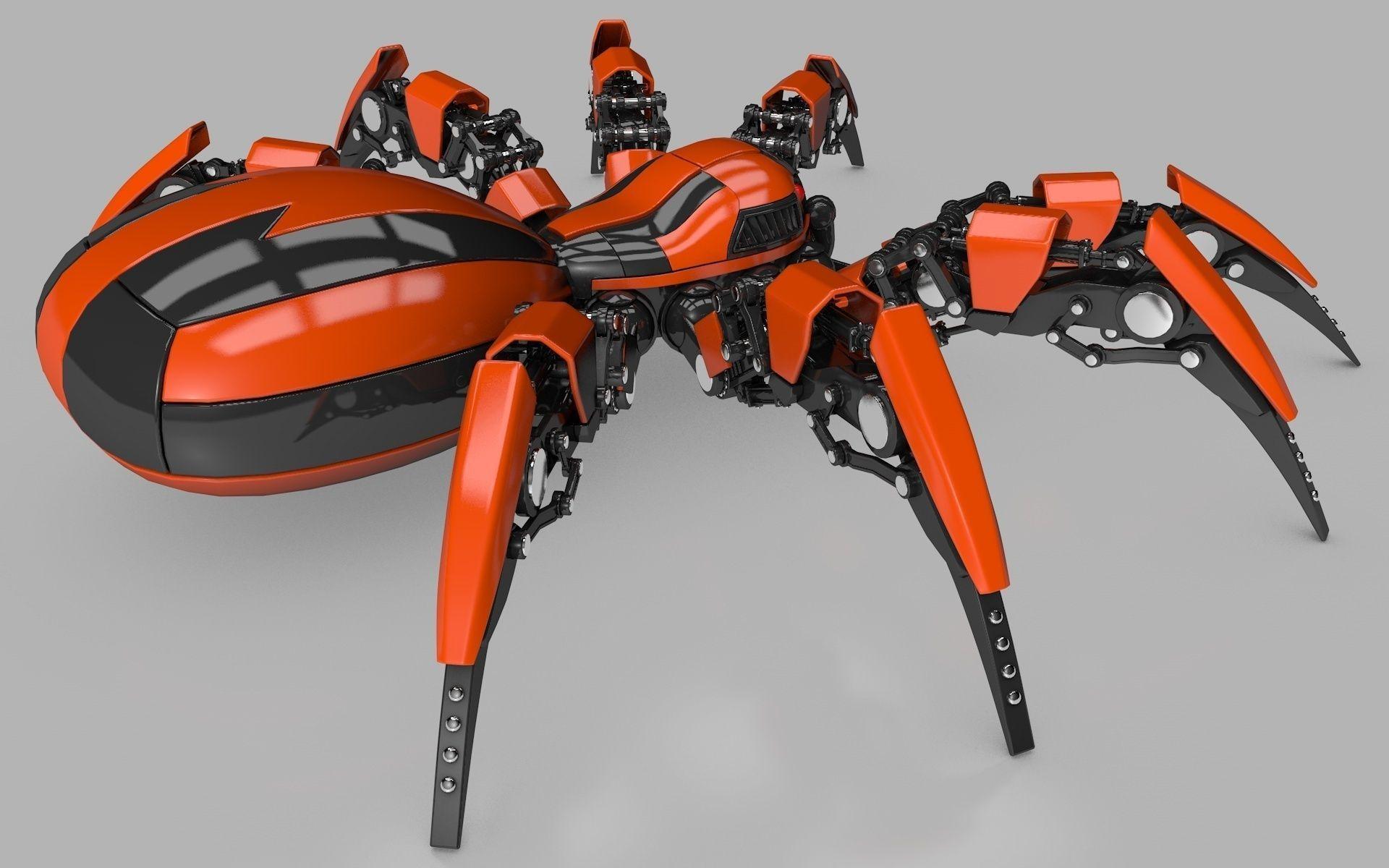 Как сделать робота паука