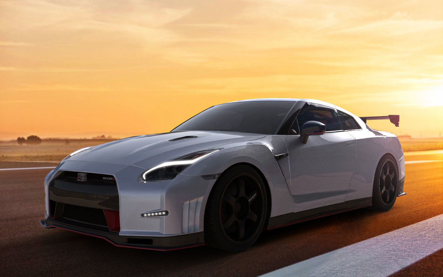 3d 2016 nissan gtr nismo | cgtrader