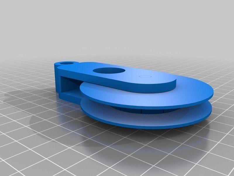 Risultati immagini per pulley 3d model