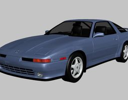 3D model Toyota Supra GT Twin Turbo 1992