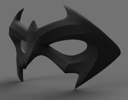 Nightwing Mask 3D printable model
