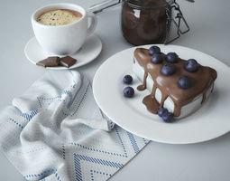 3D model Chocolate dessert