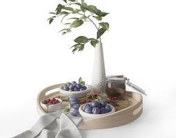 Summer dessert 3D model