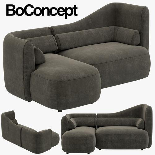 boconcept ottawa sofa 3d model cgtrader. Black Bedroom Furniture Sets. Home Design Ideas