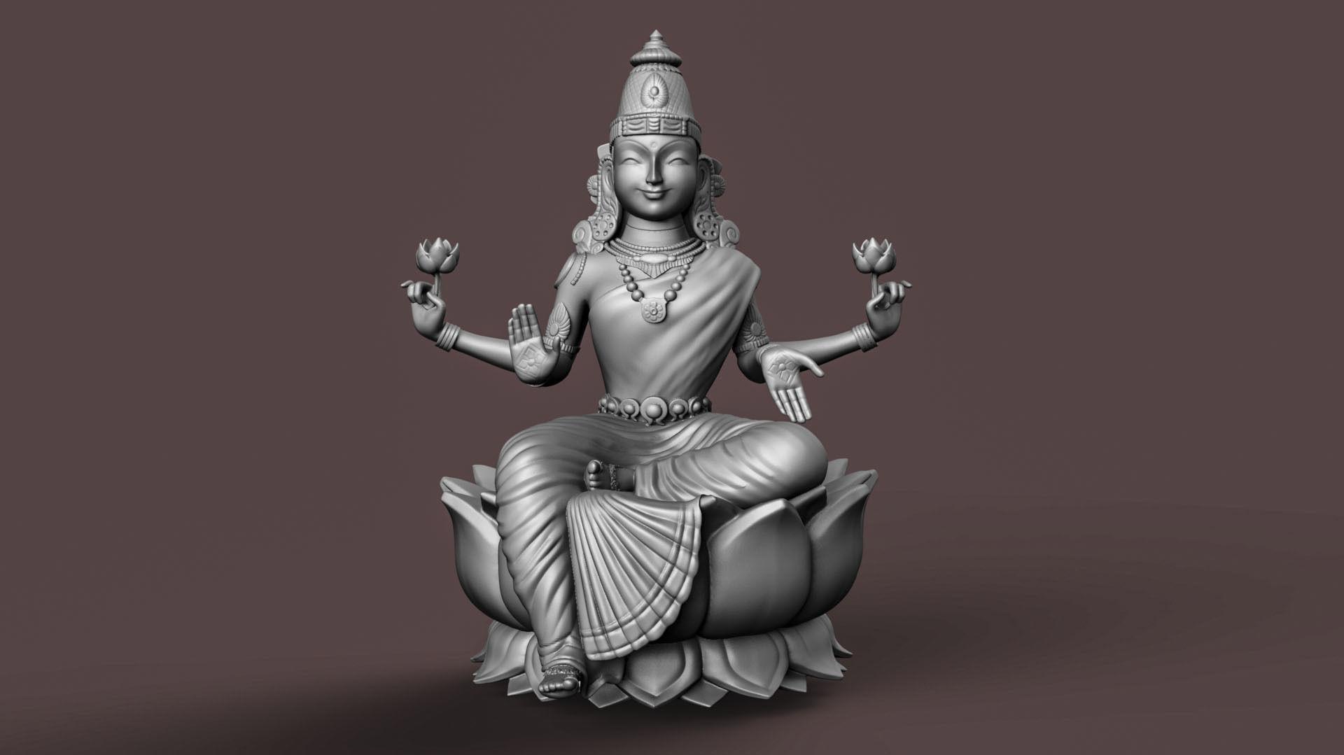 Indian Goddess Laxmi